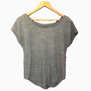 🌷SO - Mottled Gray T-Shirt - Size XS